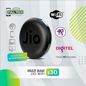 Multi bam Jio wifi Digitel