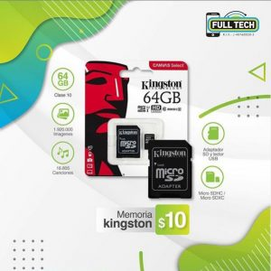 Memoria MicroSD Kingston 64GB