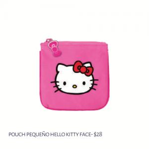 Pounch Pequeño Hello Kitty Face