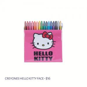 Creyones Hello Kitty Face