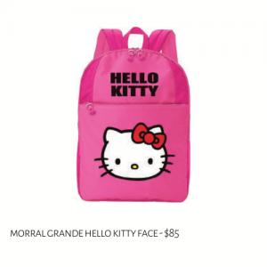 Morral Grande Hello Kitty Face