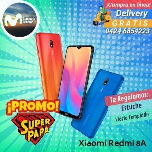 Xiaomi Redmi 8A (Estuche y Vidrio Templado Gratis)