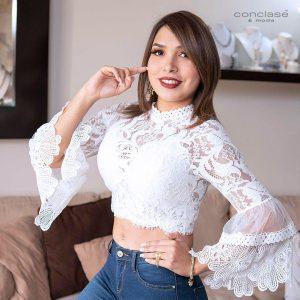 Blusa Blanca S