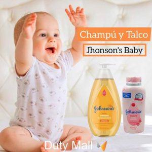 Champú y Talco Jhonson´s