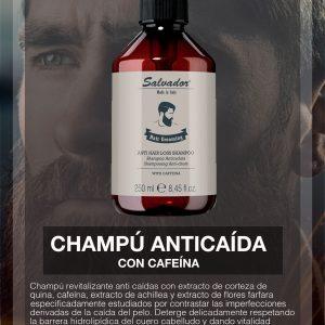 Salvador Balsamo Anticaida Con Cafeína Salvador