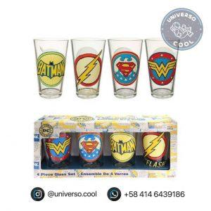 Set de Vasos DC